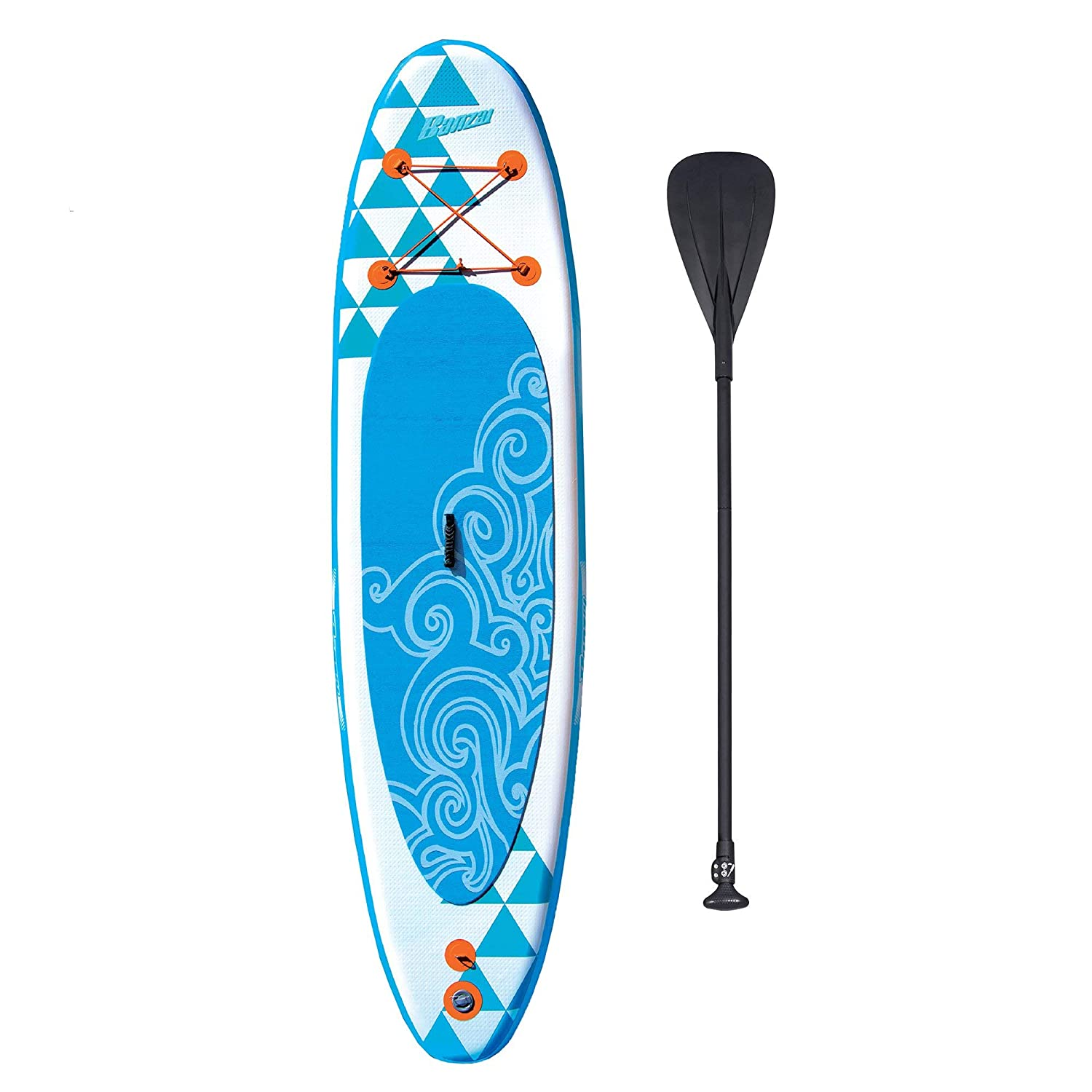 Amazon.com : Banzai 10 Inflatable SUP Stand Up Paddle Board ...