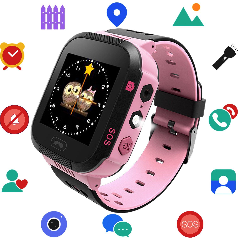 Niños reloj inteligente con GPS Tracker, juegos con la ...