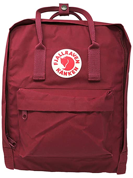 1e70a8ac0 Fjallraven - Kanken Classic Pack, Heritage and Responsibility Since 1960,  One Size,Plum