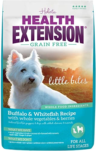Health Extension Grain Free Buffalo Whitefish Recipe Little Bite