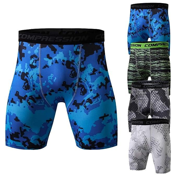Sportif Homme Moulant Short Séchage Musculation Pantalons Legging Sport et  DEELIN Courts de D entraînement Compressé Fitness ... 4ed602f80f4