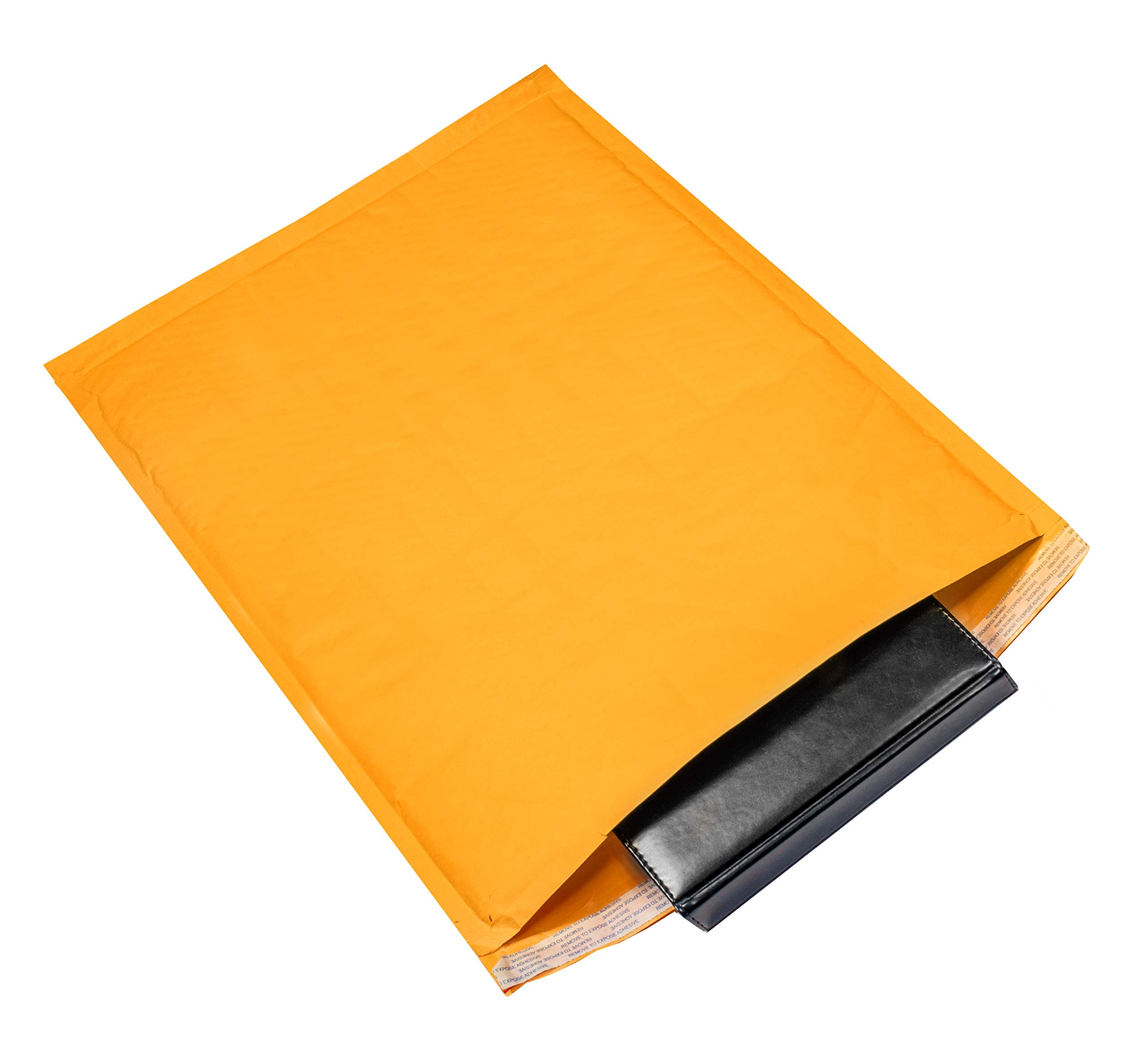 Kraft bubble mailers 14.25 x 19 Padded envelopes 14 1/4 x 19 by Amiff. Pack of 10 Kraft Paper cushion envelopes. Exterior size 14.5 x 20 (14 1/2 x 20). Peel & Seal. Mailing & shipping & packing. by Amiff (Image #9)