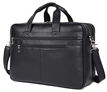 Image Unavailable. Image not available for. Color  Polare Real Soft Nappa  Leather 17 quot  Laptop Case Professional Briefcase Business Bag For Men ( 12302e001d9a7