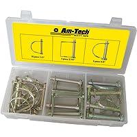 Am-Tech - Juego de pasadores de horquilla (20