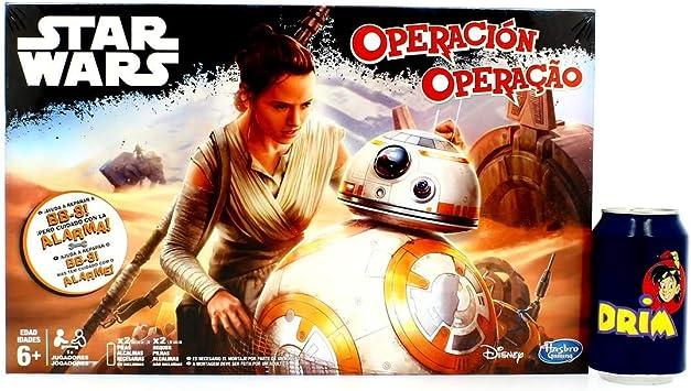 Star Wars - Juego de Habilidad Operación (Hasbro): Amazon.es: Juguetes y juegos