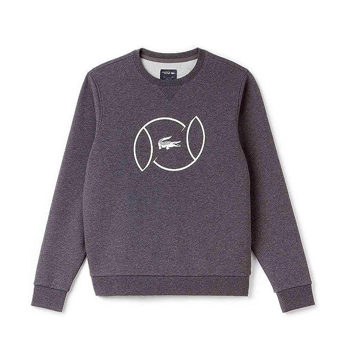Amazon Nkj Abbigliamento Maglione Collo Lacoste it Sh9506 Rotondo wq1ScOg