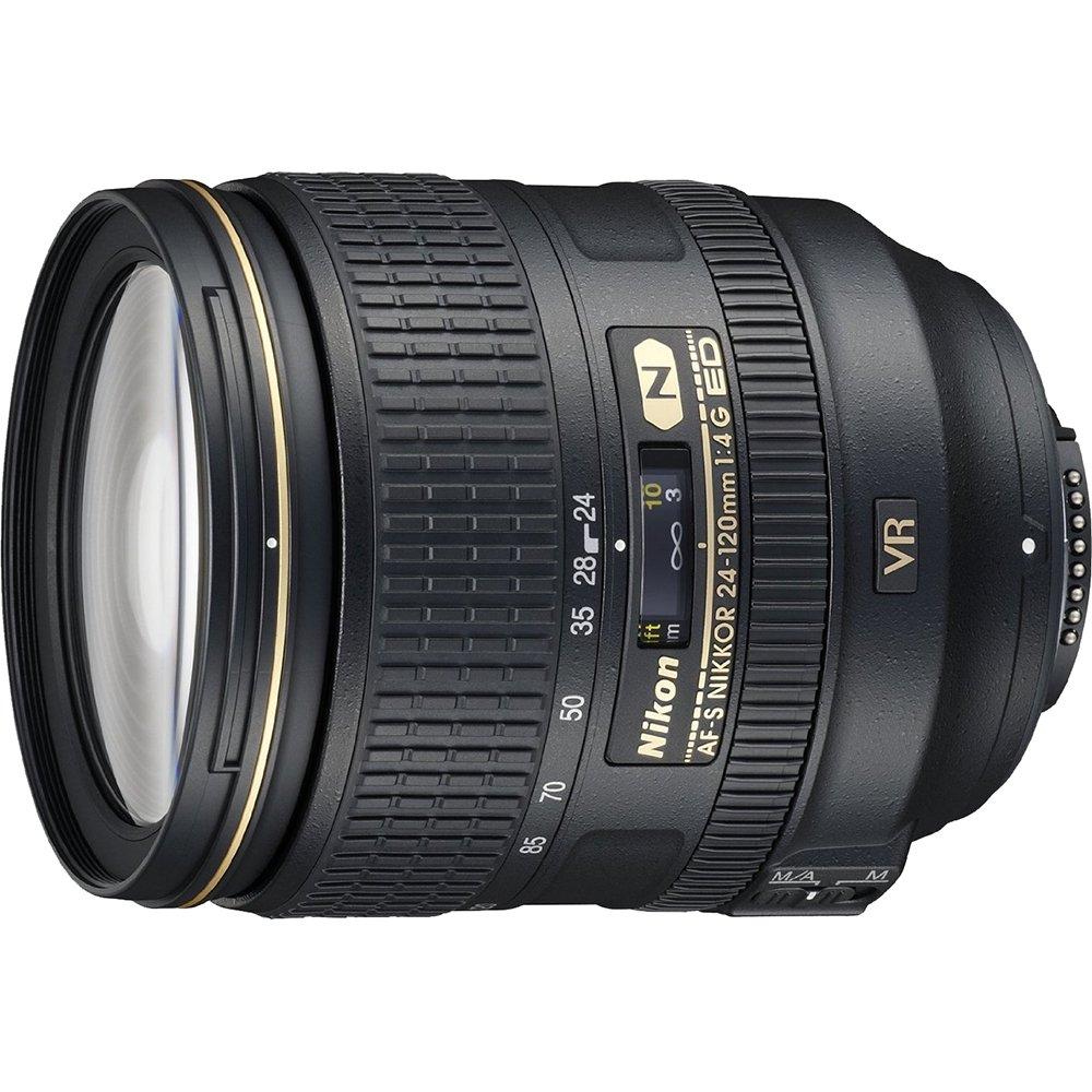 Beach Camera Nikon 24-120mm f/4G ED VR AF-S NIKKOR Lens for Nikon Digital SLR (Certified Refurbished)