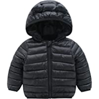 1-3 Years Old Toddler Infant Kids Long Sleeve Toddler Baby Girl Boy Butterfly Winter Thick Warm Jacket Hooded Windproof Coat Amyline Baby Girl Coat
