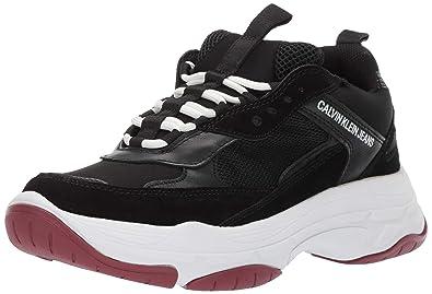 b7aab9181859 Calvin Klein Women s Maya Sneaker Black 5 ...