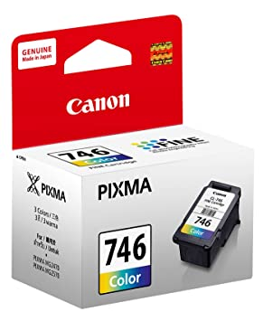 Canon CL 746 Ink Cartridge  Color  Inks, Toners   Cartridges