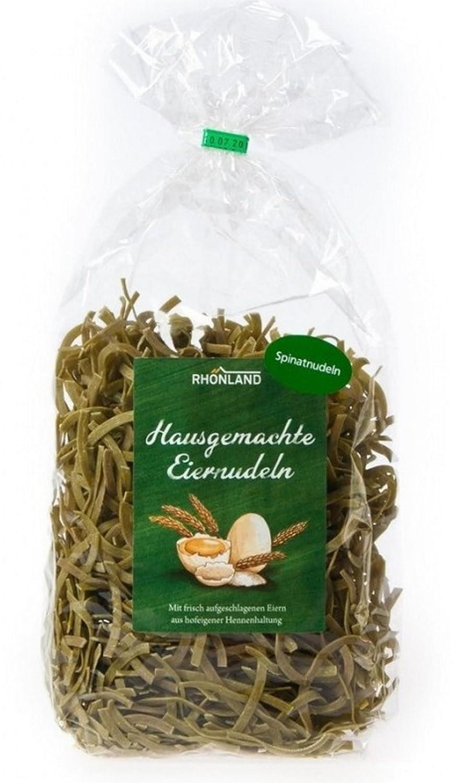 Rhönland Spinat Nudeln, Spinatgeschmack, 500 g: Amazon.de ...
