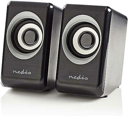 COMBU sters Diseño Caja de Altavoces Cajas PC Ordenador Portátil Negro: Amazon.es: Informática