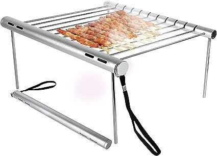 Grille de camping portable Mini barbecue compact pliable