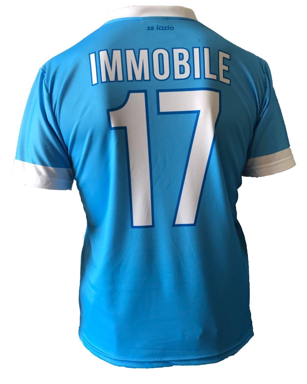 sslazio Maglia IMMOBILE Lazio Replica Ufficiale 2017-18 Bambino ...