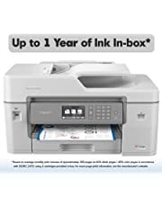 """Brother MFC-J6545DW INKvestmentTank Color Inkjet All-in-One Printer with Wireless, Duplex Printing, 11"""" x 17"""" Scan Glass and Up to 1-Year of Ink in-Box MFC-J6545dw"""