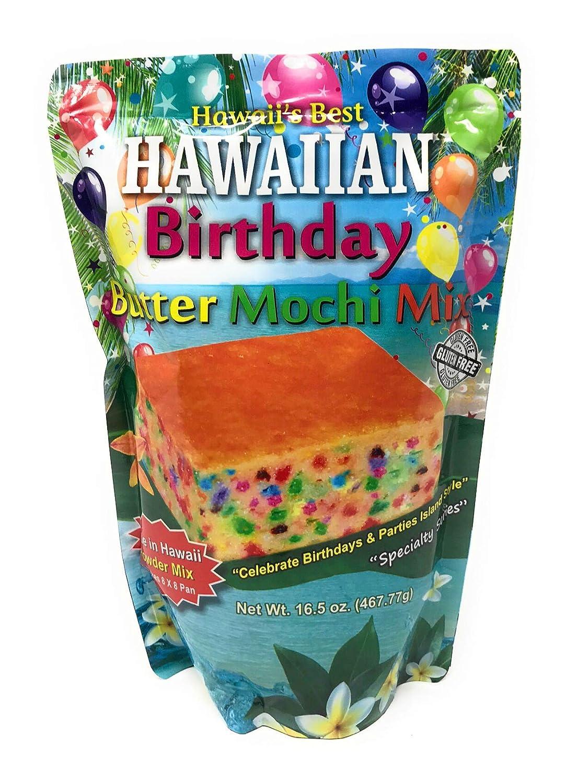 Super Amazon Com Hawaiian Birthday Cake Butter Mochi Mix Grocery Funny Birthday Cards Online Kookostrdamsfinfo
