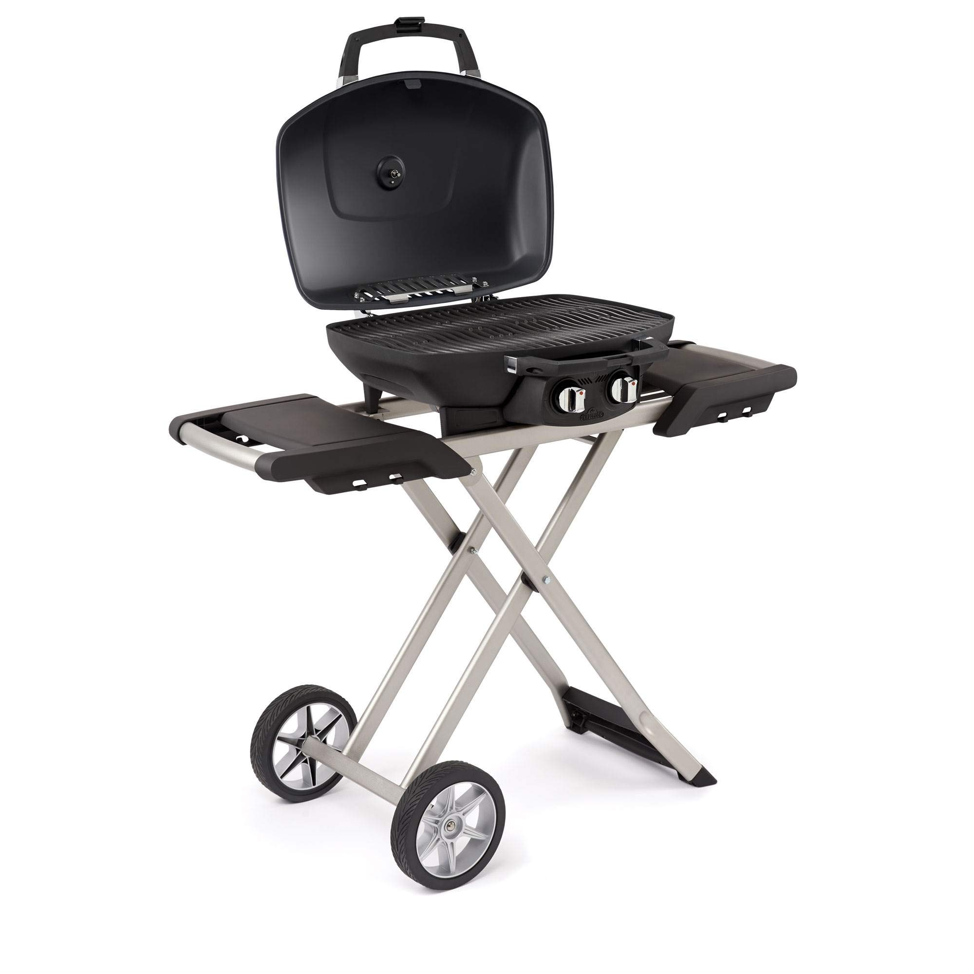 Napoleon TQ285X-BL Portable Propane Grill with Cart, Blue by Napoleon
