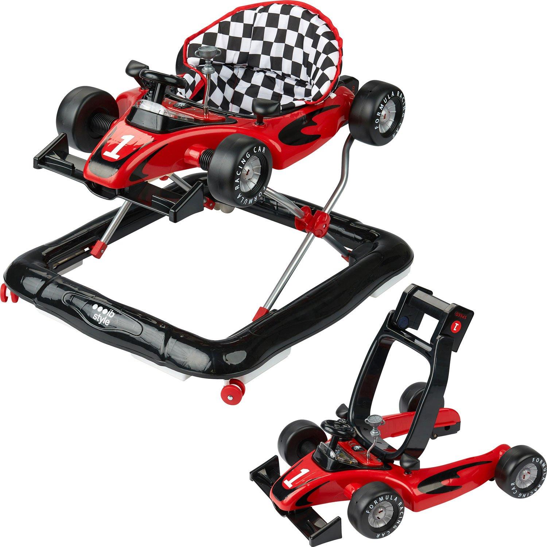 ib style LITTLE Racer   2 Fonct.   Trotteur  sons & lumière  EN 1273:2005   ROUGE