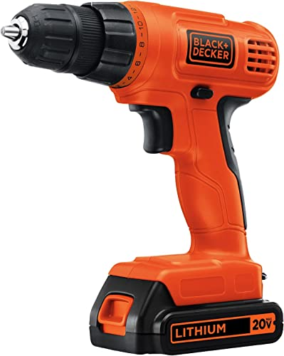 Black Decker LD120CBFR 20V MAX Cordless Lithium-Ion 3 8 in. Drill Driver