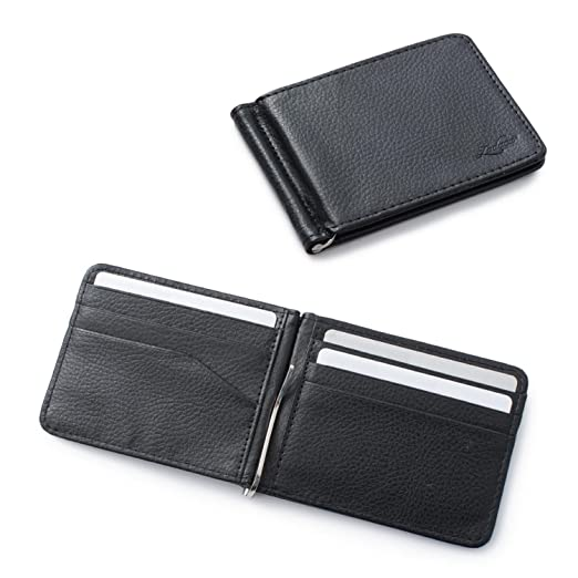 Zodaca bifold leather wallet id card business card case credit card zodaca bifold leather wallet id card business card case credit card holder lightweight colourmoves