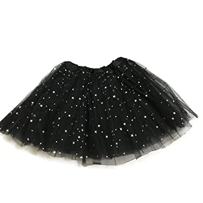 Rush Dance Ballerina Girls Dress-Up Sparkling Stars Sequins Costume Recital Tutu: Clothing