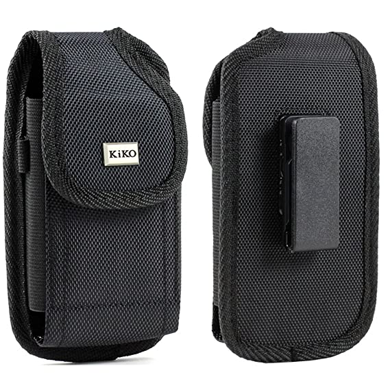 new product 11d1d b26cf XXL SIZE Google Nexus 6P / 6 Vertical Nylon Case Pouch Holster with VELCRO  Closure with Swivel Belt Clip Fits OTTER BOX Defender / LIFEPROOF / Mophie  ...