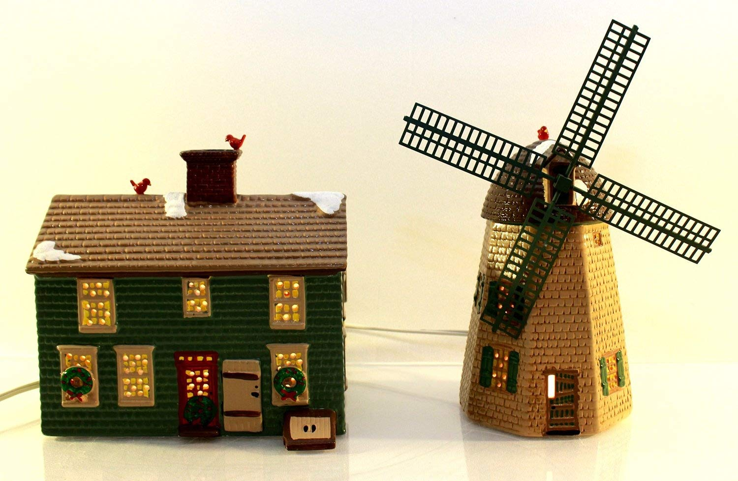 Department 56 The Original Snow Village Home Sweet Home House & Windmill #51268