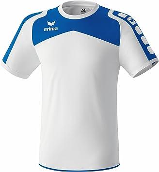 erima Trikot Ferrara - Camiseta de equipación de fútbol para hombre, color (Weiß/New Royal), talla L: Amazon.es: Deportes y aire libre
