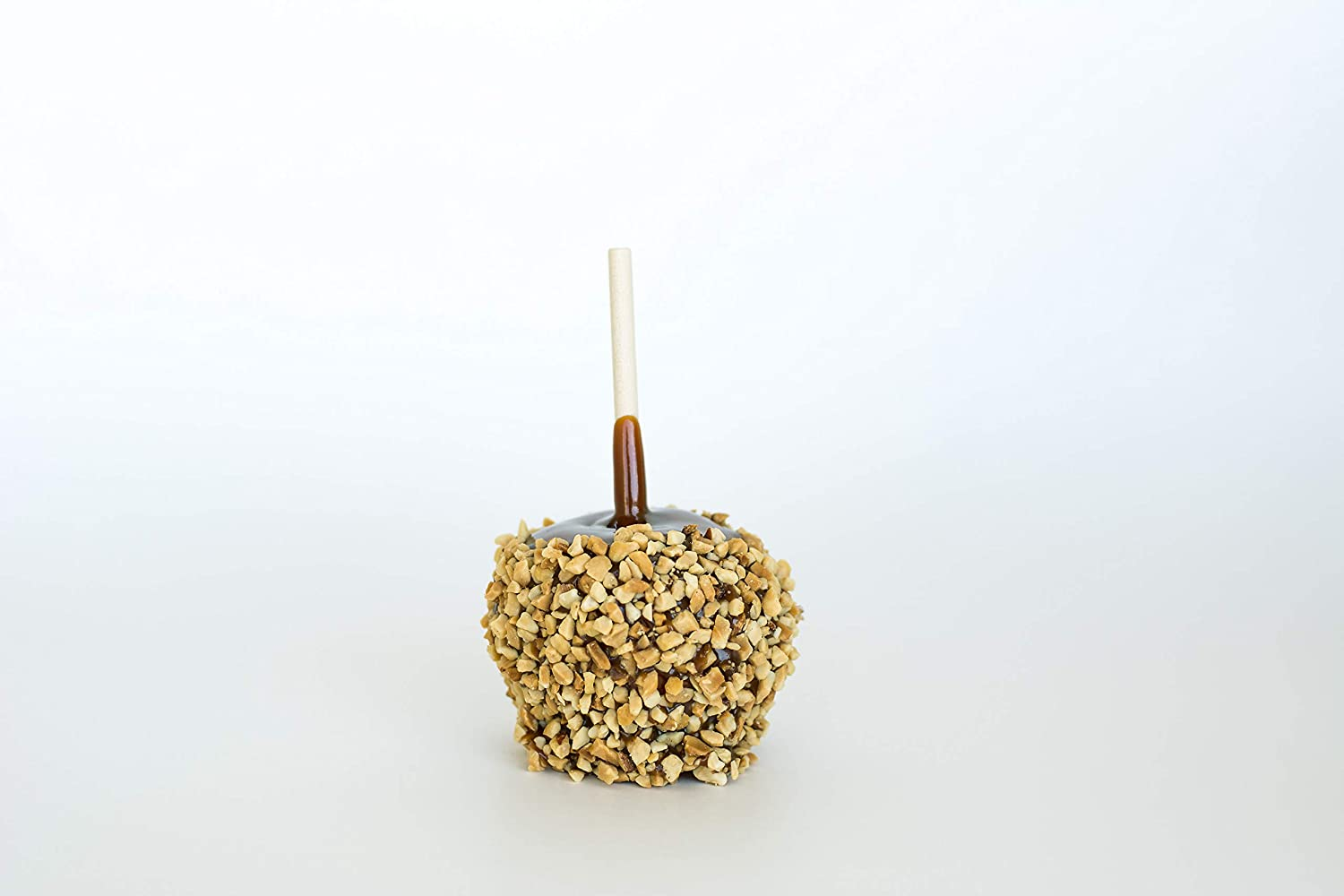 24 Individually Packaged Classic Caramel Apples with Peanuts