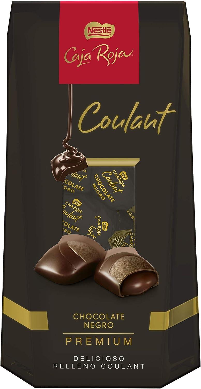 Nestlé Caja Roja Coulant Bombones de Chocolate Negro Premium - Paquete de bombones 10 x 142 g - Total: 1.42 kg: Amazon.es: Alimentación y bebidas