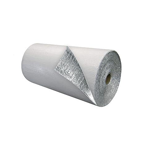 Amazon.com: Blanco sola burbuja aislamiento W/Foil 375 S.F. ...