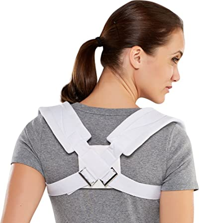 Bell-Horn Clavicle Posture Support Brace, Medium