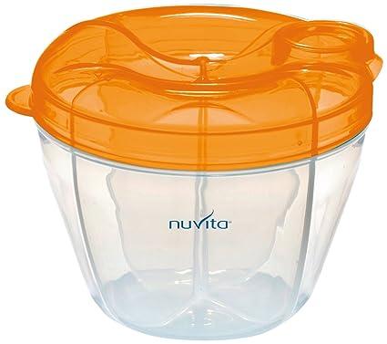 Nuvita nuppl0010 contenedor y dispensador de leche en polvo naranja