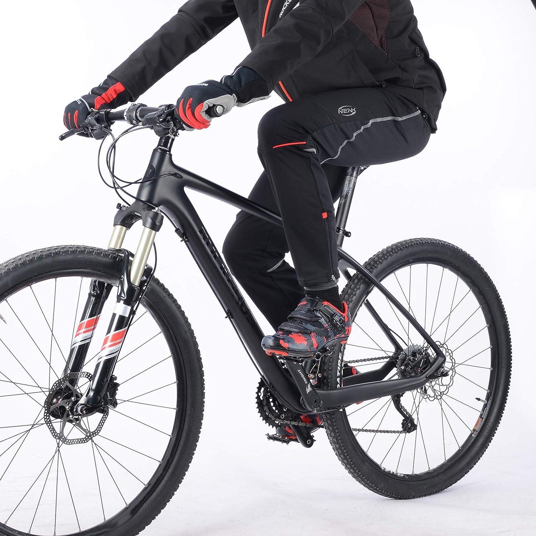 Hombre Rockbros Pantalones Largos Deportivos De Otono Invierno Termico Calido Forro Polar A Prueba De Viento Para Ciclismo Bicicleta Mtb Deportes Unisex Deportes Y Aire Libre Aceautocare Net