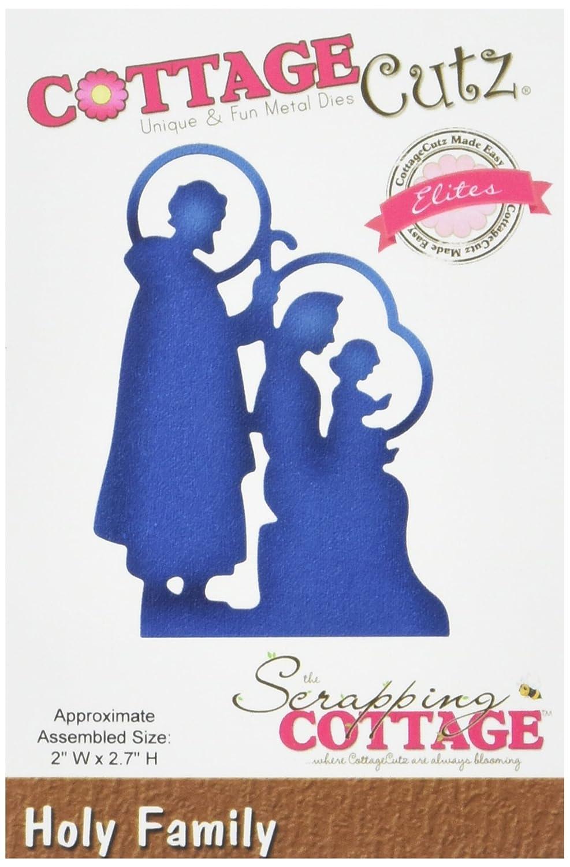 Cottagecutz Elites Die-Holy Family 2x2.7 by CottageCutz B014IEE2SY