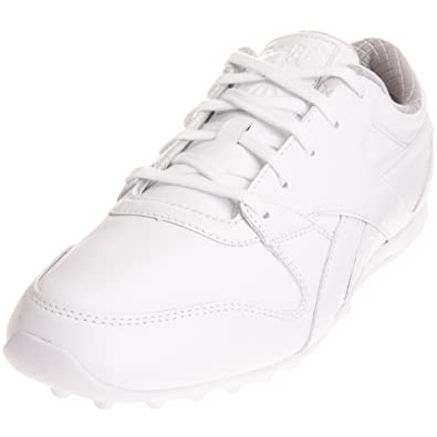 698076717c4d0a Reebok Men s Augustus Low White Steel Trainer J18894 10 UK  Amazon ...