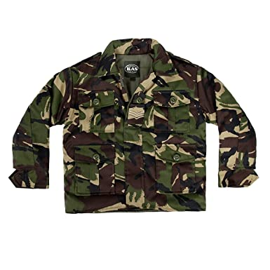 93b226ce1 Kids Army Camouflage Padded Jacket Ages 3-13 Childs Camo Coat ...