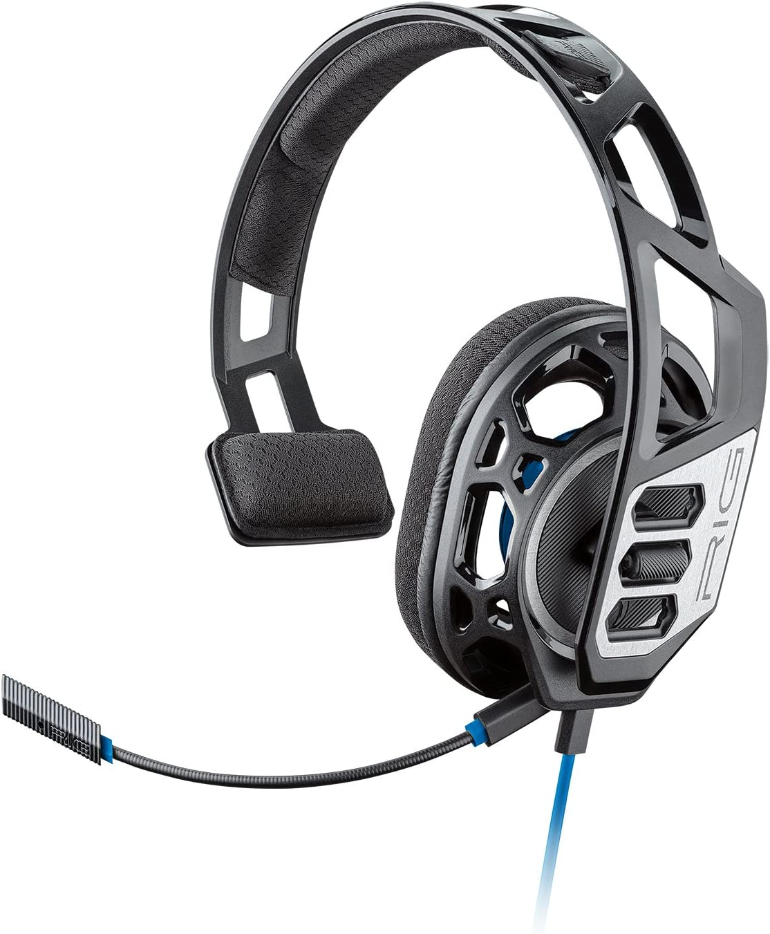 Plantronics Gaming Headset, RIG 100HS Gaming Headset for Playstation 4 with Open Ear Full Range Chat 209190-01