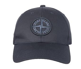 Stone Island - Gorra de béisbol para Hombre, algodón, Color Negro ...