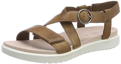 5361ae61d46 ECCO Girls  Flora Open Toe Sandals  Amazon.co.uk  Shoes   Bags