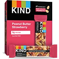 12-Count Kind Bars Peanut Butter & Strawberry Gluten Free, 1.4-Oz