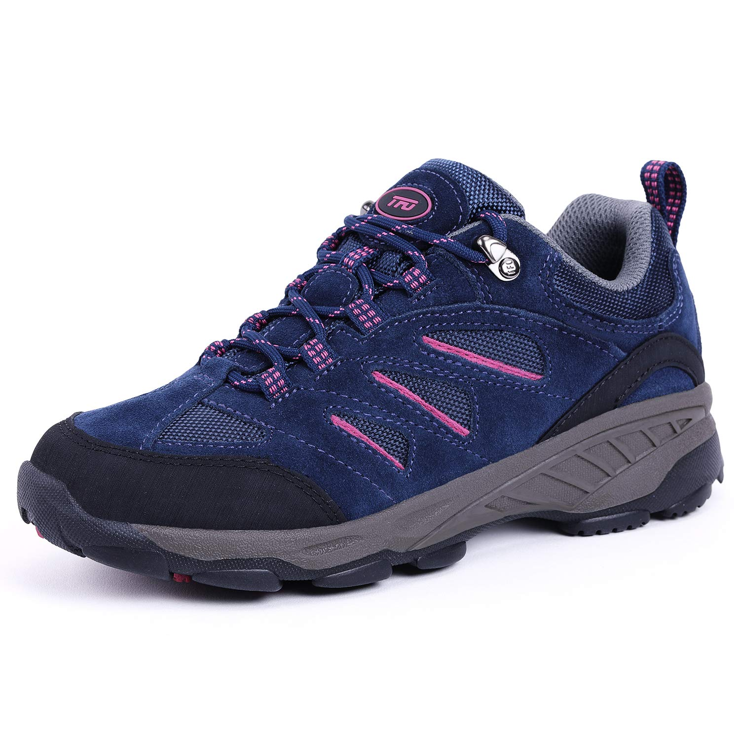 TFO Women's Air Cushion Hiking Shoe Breathable Running Outdoor Sports Trail Trekking Sneaker (9.5 M US, Purple Blue) by TFO