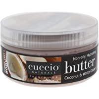 Cuccio Naturalé Butter Blend Coconut & White Ginger - Non-Greasy Lotion for Hand, Body & Feet - Energizing & Balancing…