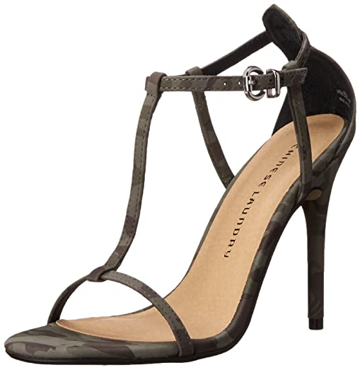 Chinese Laundry Women's Leo Dress Sandal, Olive Camo, ...