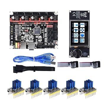 Semoic Tarjeta Controladora SKR V1.3 de 32 bits + 5 Piezas TMC2130 ...