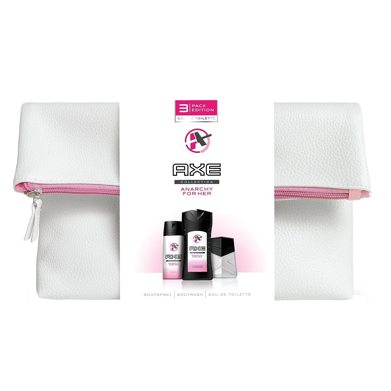 Axe Coffret Cadeau Trousse Eau de Toilette Déodorant + Gel Douche pour Femme