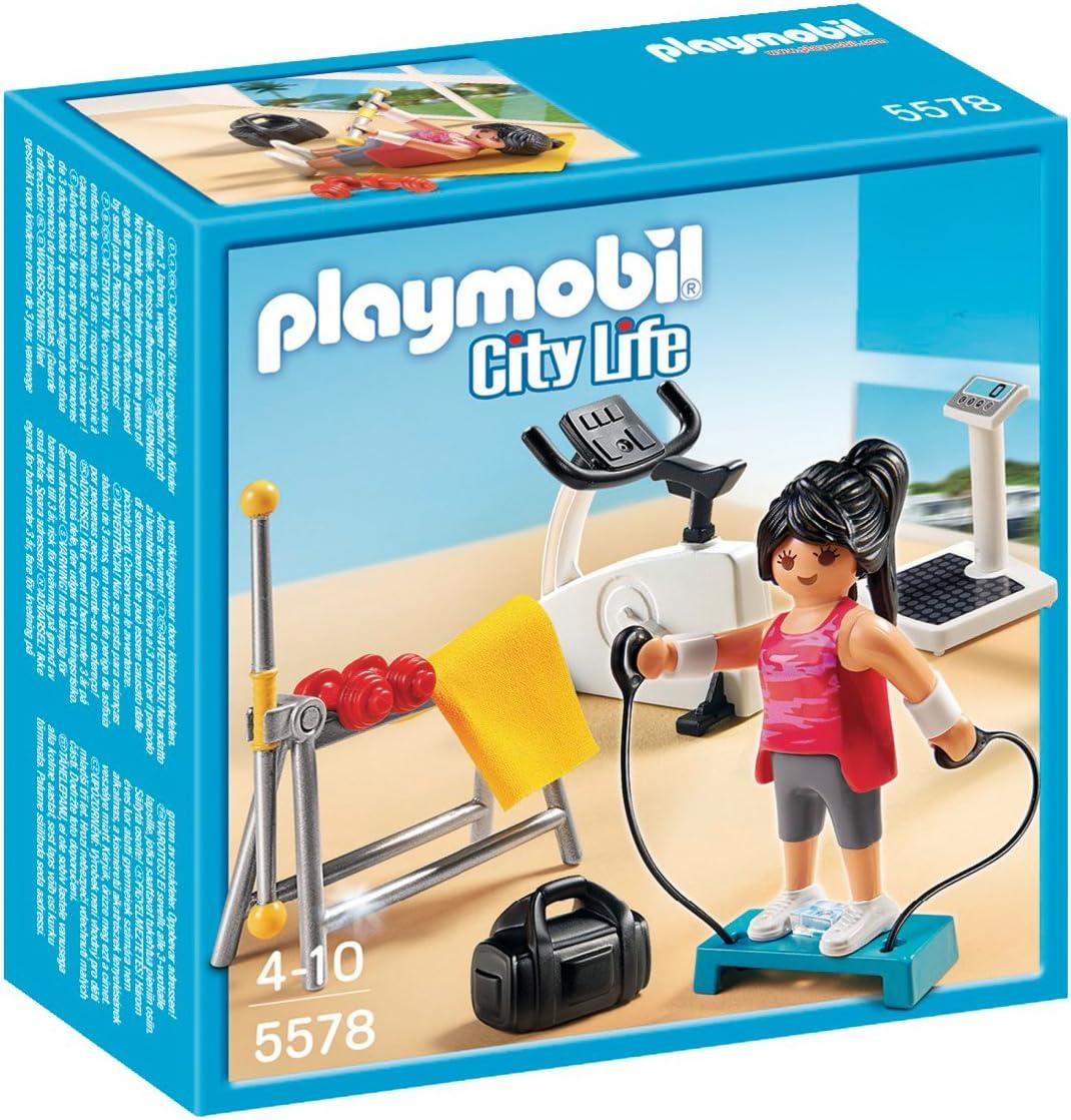 Playmobil 5578 Cours De Fitness Amazon Fr Jeux Et Jouets