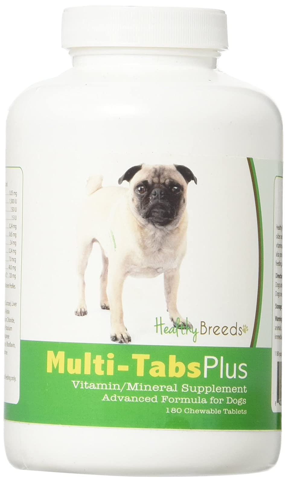 Healthy Breeds Dog One A Day Supplement Pug, Brown - 1