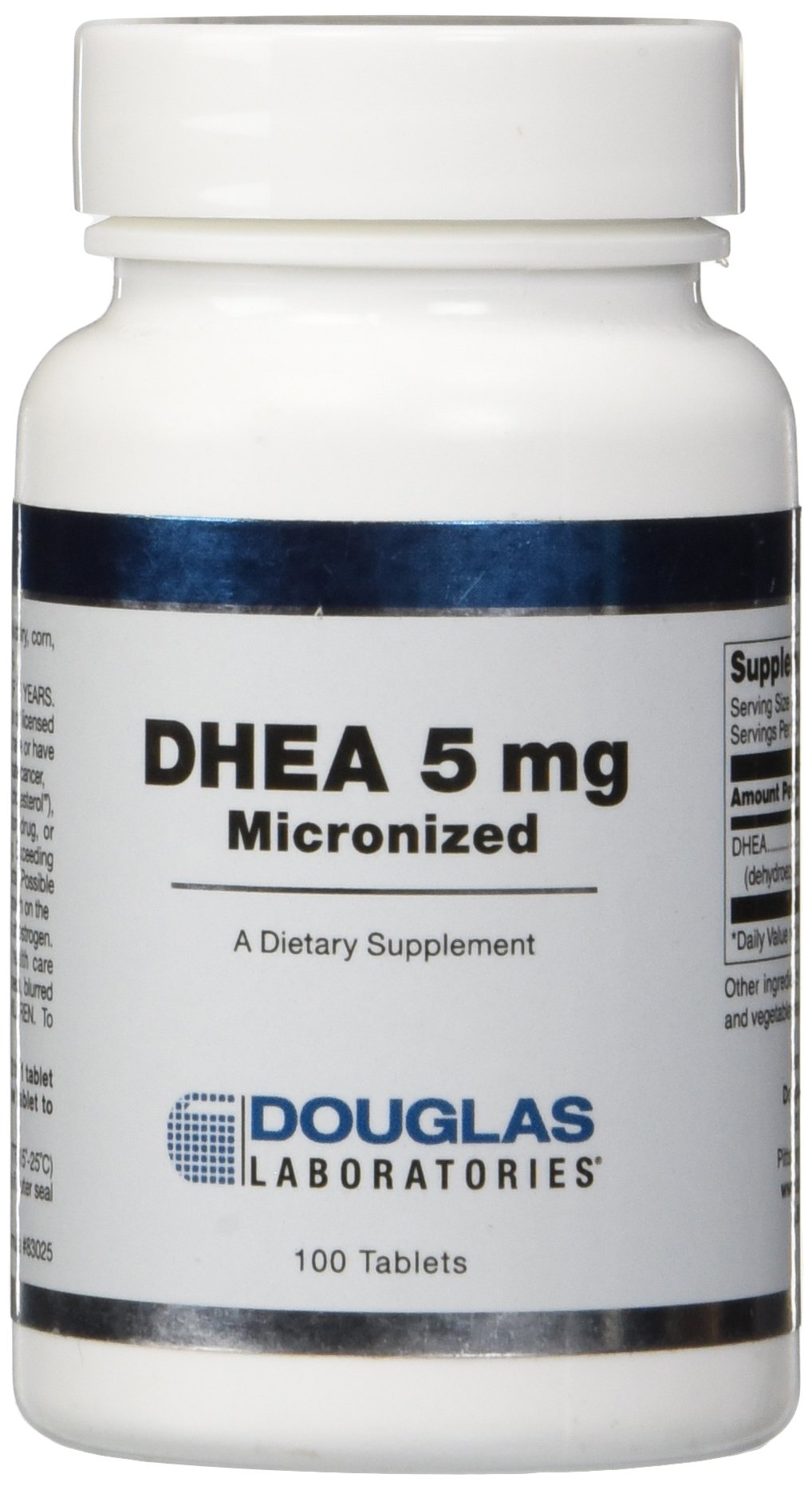 Douglas Laboratories Dhea Sublingual Tablets, 5 mg, 100 Count