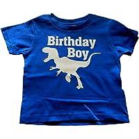 Custom Kingdom Boys Birthday Dinosaur T-Shirt